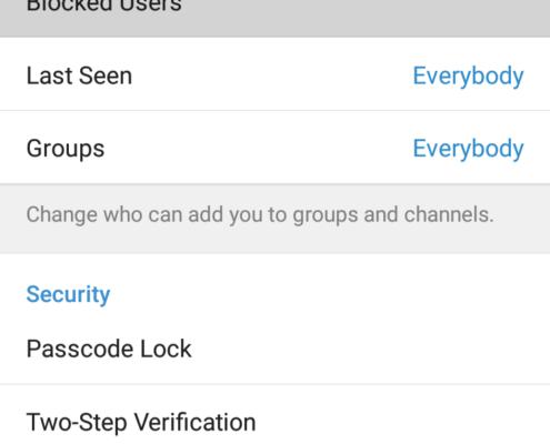 چگونه افراد را در تلگرام بلاک کنیم؟