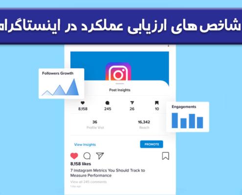 شاخص های ارزیابی عملکرد صفحه اینستاگرام