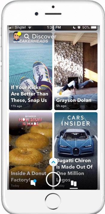 شبکه اجتماعی Snapchat اسنپچت
