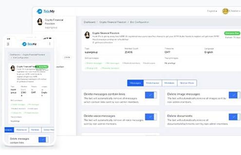 ابزار خارجی Teleme برای تحلیل کانال تلگرام